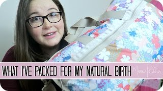 WHAT'S IN MY BIRTH BAG | BIRTH CENTER BIRTH | BABY NUMBER 2 | MAMMA CHAVEZ