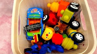 Toy Cars Box Full Of Toys Play Cars For Kids video for kids