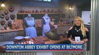 Where is the downton abbey exhibit going next