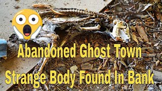 Abandoned Ghost Town Of Kanona Kansas   Strange Body Found In The Bank