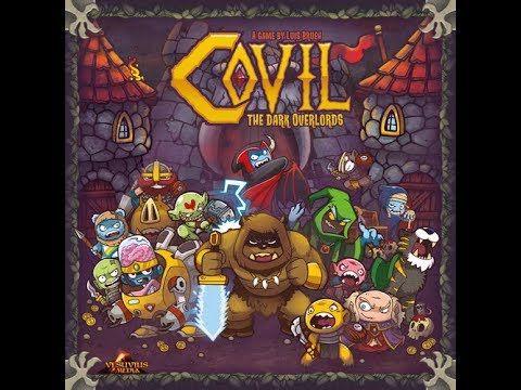The Purge: # 1753 Covil: The Dark Overlords: Have you ever wanted to take over a country with GI Joe, He Man and Care Bears? If so, do I have a game for you!