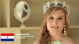 Simone Patricia Freitag Contestant from Paraguay for Miss World 2016 Introduction