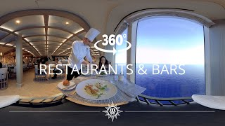 MSC Cruises: Restaurant & Bars 360°