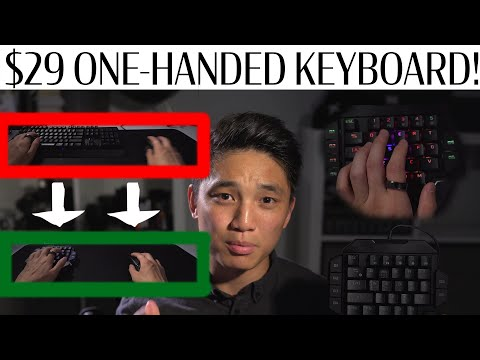 Should You Switch To A $29 One-Handed Keyboard For Gaming? I Did! Never Going Back! Red Thunder K50