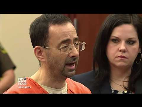 News Wrap: Former USA gymnastics doctor pleads guilty to sexual assault of 7 young athletes