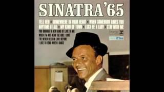 Tell Her - You Love Her Each Day - Frank Sinatra (Original Vinyl Rip)