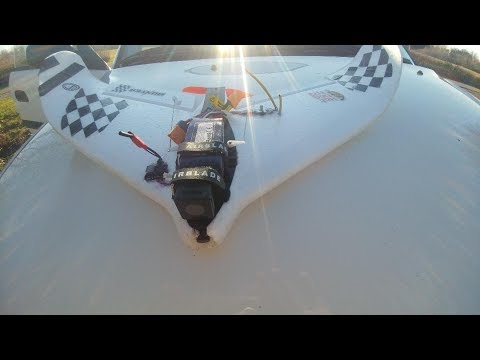 FTC Hunter 680mm racing wing with Hawkeye 1080p camera