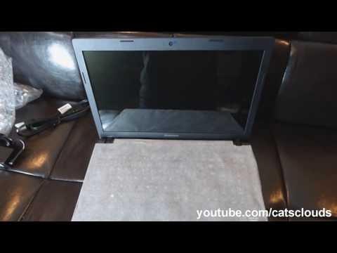 Lenovo G505 unboxing