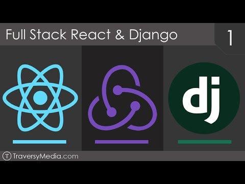 Full Stack React & Django [1] - Basic REST API