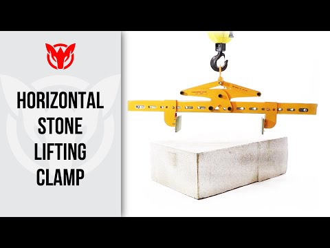 Horizontal Stone Lifting Clamp - 2010-4T