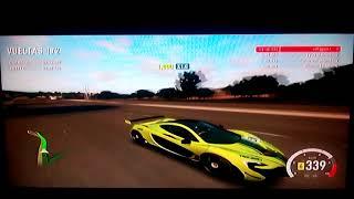 Corriendo con el Maclaren P1 (Forza Horizon 2)