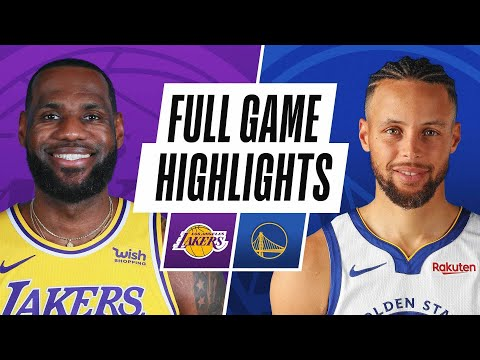 LAKERS at WARRIORS | FULL GAME HIGHLIGHTS | March 15, 2021