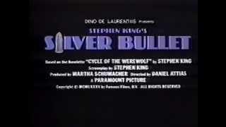 Silver Bullet (1985) Video