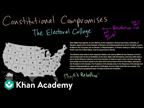 The Electoral College (video) Khan Academy