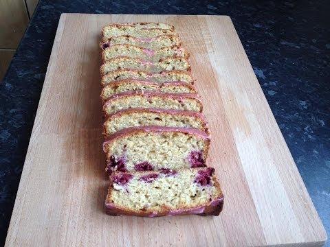 Video Weight Watchers Recipe: Lemon & Raspberry Drizzle Cake