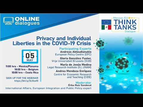 """Webinar: """"Privacy and individual liberties in the COVID-19 crisis"""