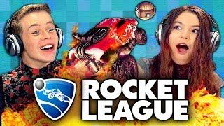 ROCKET LEAGUE (Teens React: Gaming)