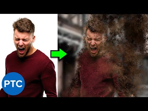 Disintegration Effect – Dispersion Effect – FULLY EXPLAINED Photoshop Tutorial
