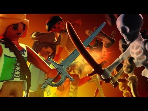 Playmobil pirates film - The Island of the Immortals