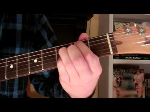 How To Play the G9 Chord On Guitar (G ninth) 9th