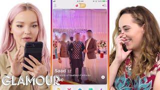 Dove Cameron Hijacks a Stranger's Phone | Glamour