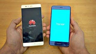 Huawei Honor 8 vs P9 Plus - Speed Test! (4K)