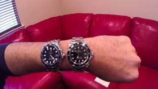 Rolex Submariner Vs Omega Seamaster - Compare And Contrast