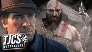 God Of War And Red Dead Redemption 2 Lead Game Awards Nominations