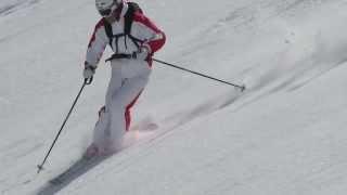 Смотреть онлайн Обучение фрирайдингу на горных лыжах