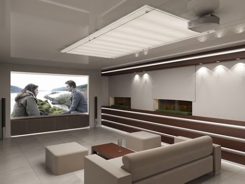 Дизайн гостиной в стиле хай - тек. Интерьер_комнаты.