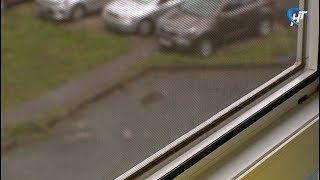 Спасатели и врачи просят не оставлять маленьких детей без присмотра у открытых окон с москитными сетками