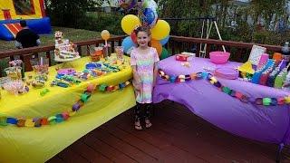 Sophias Candyland Birthday Party