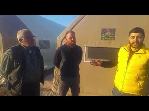Manisa Akhisar 7x20m Salyangoz Üretim Tesisi Amaçlı Çadır Yapı