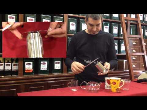 Infusor de té de acero inoxidable compatible con todas las tazas