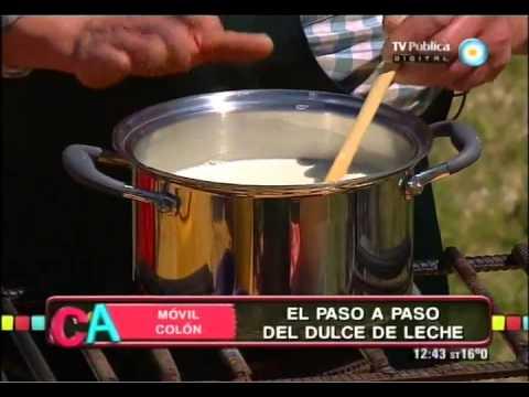 Dulce de leche de Colón