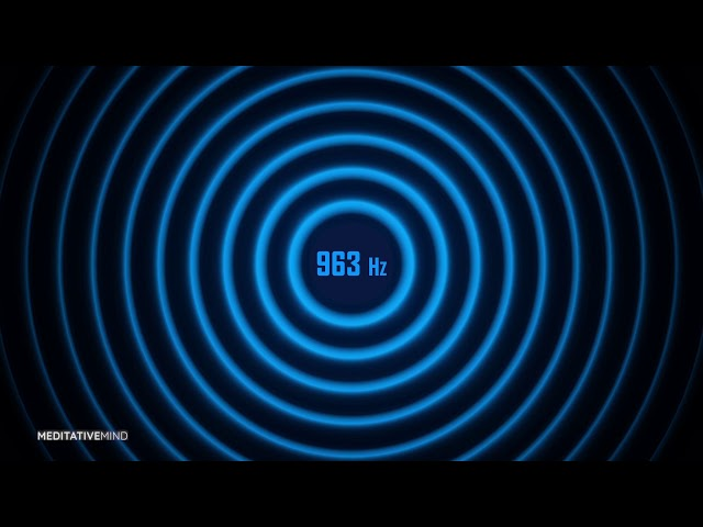 963 Hz | Pineal Gland Activation Tone | Solfeggio Soundscapes