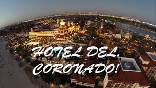 preview picture of video 'HOTEL DEL, CORONADO!!--DJI Phantom 2'