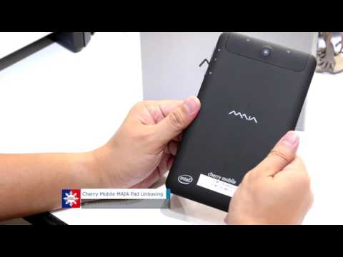 Cherry Mobile MAIA Pad Unboxing and Device Walkthrough