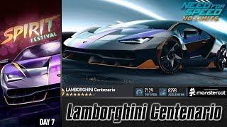 Need For Speed No Limits: Lamborghini Centenario | Blackridge Spirit Festival (Day 7 - Finale)
