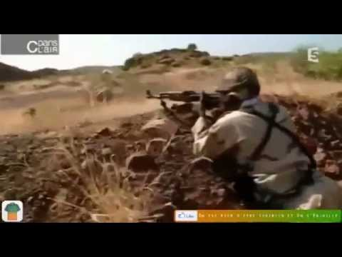 Tréning vojakov z Mali