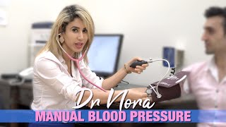How to Take Blood Pressure Manually | Doctor Explains 👩🏼⚕️