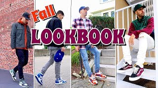 FALL & WINTER LOOKBOOK - HOW TO STYLE COLD WEATHER OUTFITS - NIKE - VANS - ADIDAS - JORDANS