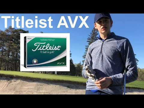 Golf Ball Review : Titleist AVX golf ball
