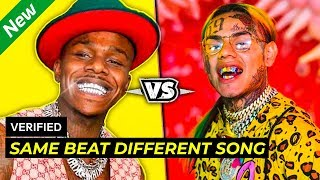 POPULAR RAP SONGS WITH THE SAME BEAT - WHICH IS BETTER