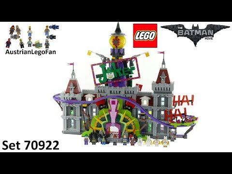 Vidéo LEGO The Batman Movie 70922 : Le manoir du Joker