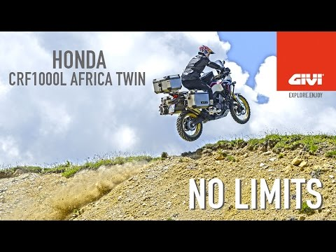 The GIVI accessories do not change the spirit of your bike. Complete it... watch this hard test.