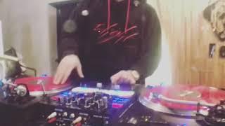 DJ Ron Turntable Scratch Fxxk Routine practice