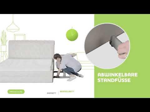 Chicco Next2me Beistellbett - Aufbauanleitung (Deutsch)