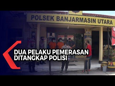 dua pelaku pemerasan terhadap tukang cukur ditangkap polisi