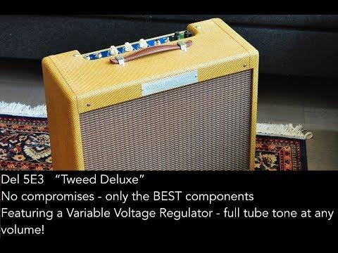 Wang Amplifiers - Del 5E3 Demo